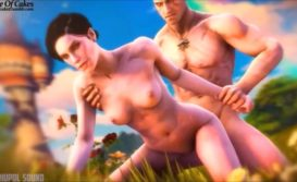 Compilado porno de Geralt fodendo as personagens de The Witcher